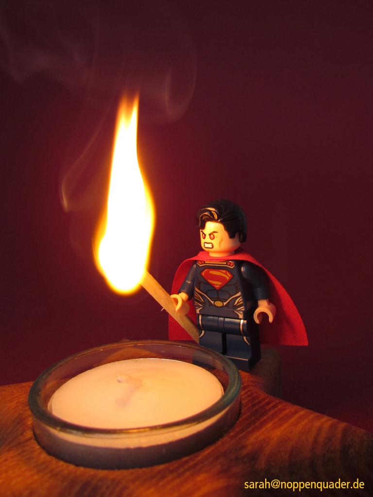 Superman Streichholz