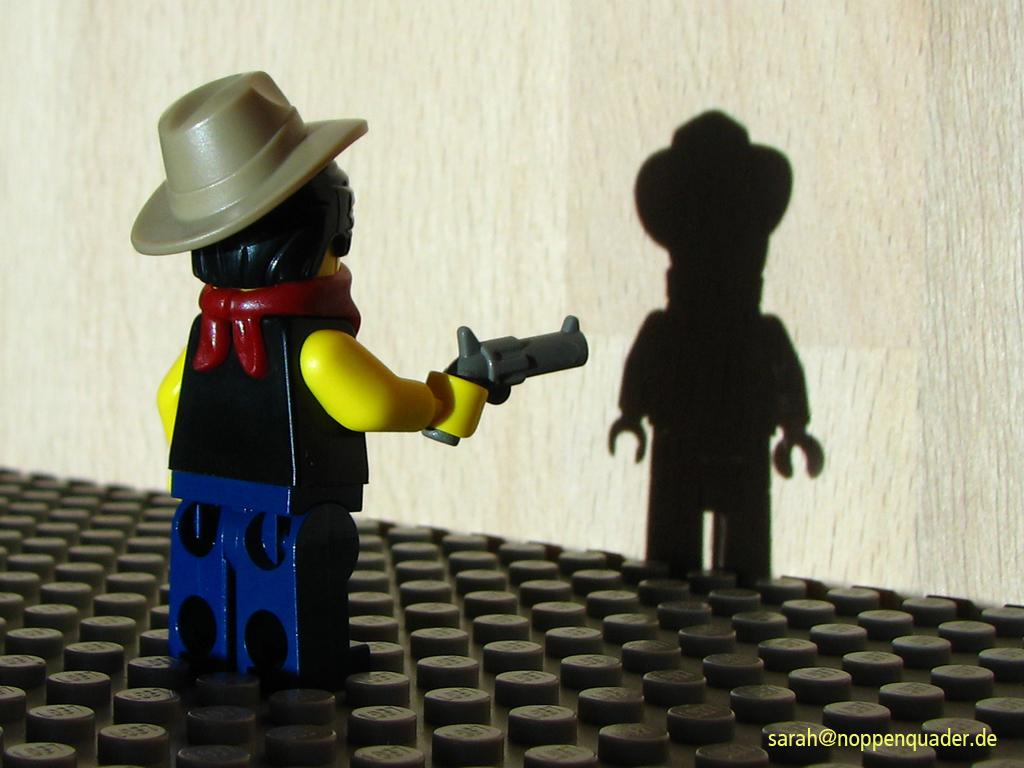 lego minifig noppenquader moc lucky luke schatten