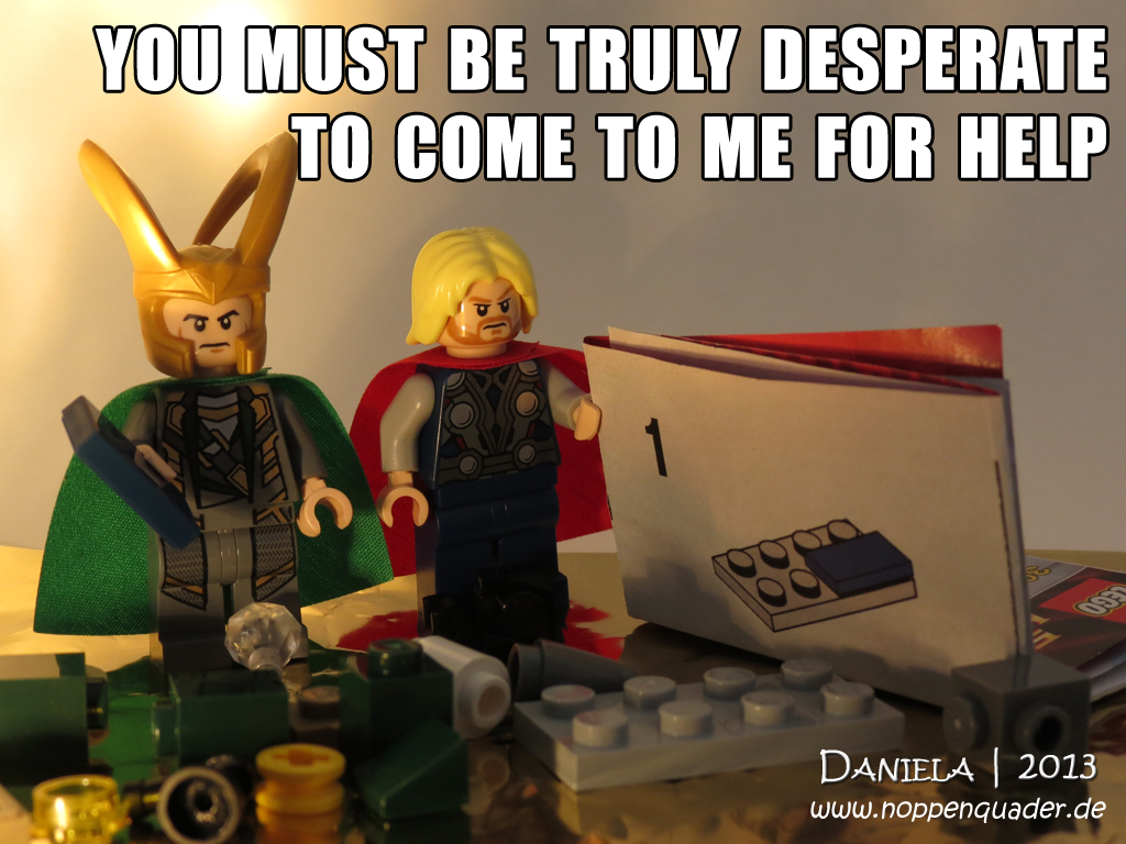Thor Loki Legoloki