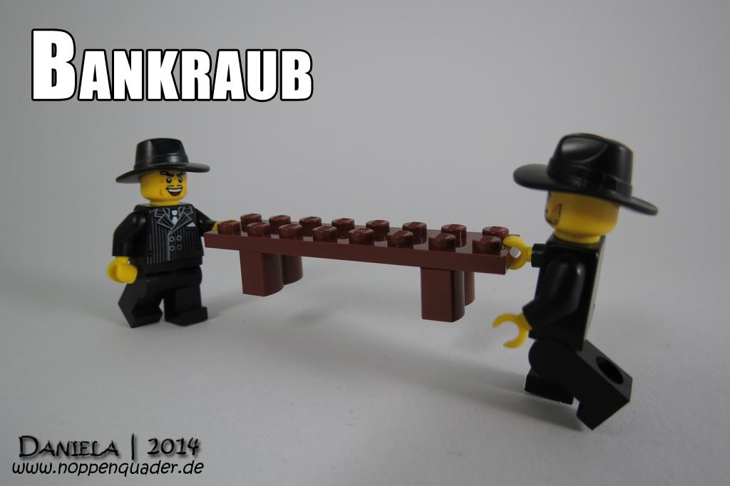Lego Minifig Bank