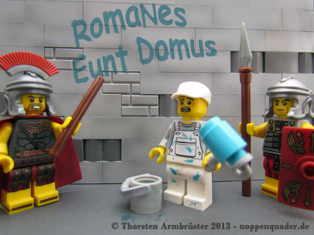 Lego, Leben des Brian, Römer, Latein