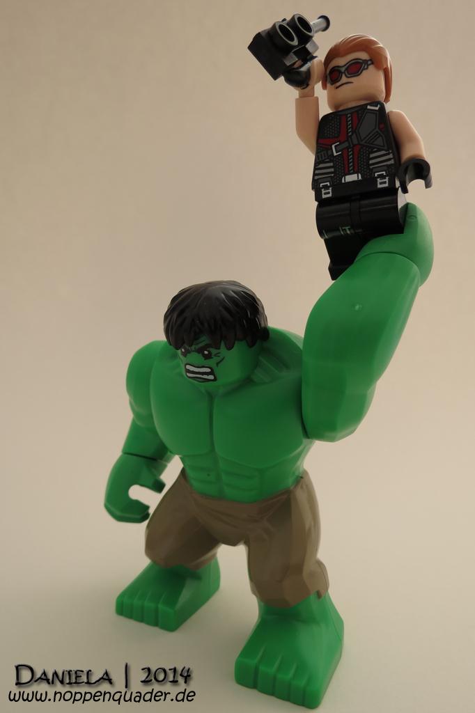 Hulk Marvel Lego Minifig Hawkeye