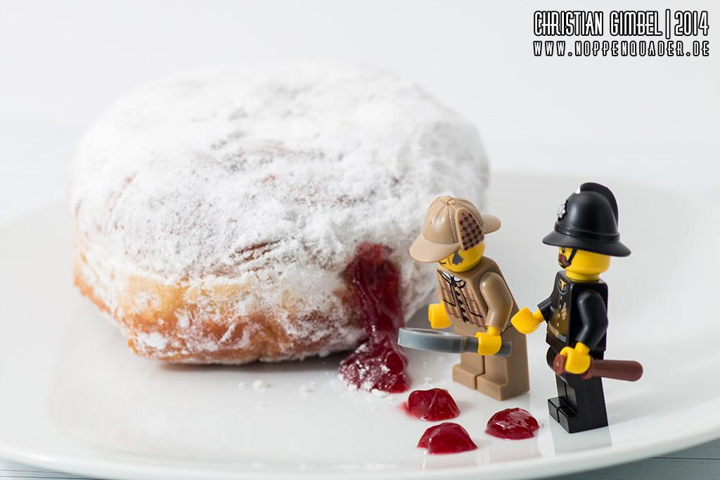 Lego Noppenquader Sherlock Holmes sieht Blut vor Kreppel - Artikelbild
