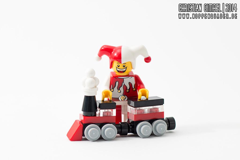 Lego Noppenquader - Schelm mit Rosenmontagszug - Artikelbild
