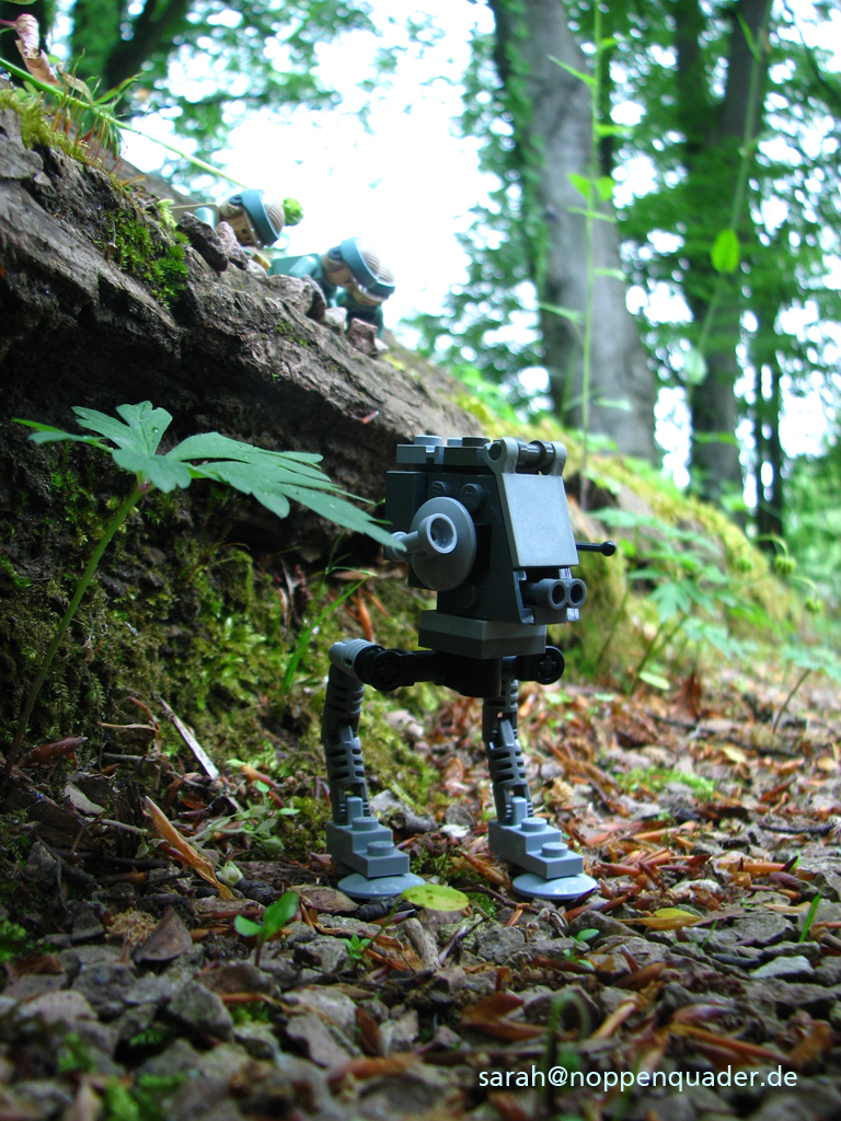 lego minifig noppenquader moc starwars endor atst trooper trap retur of the jedi
