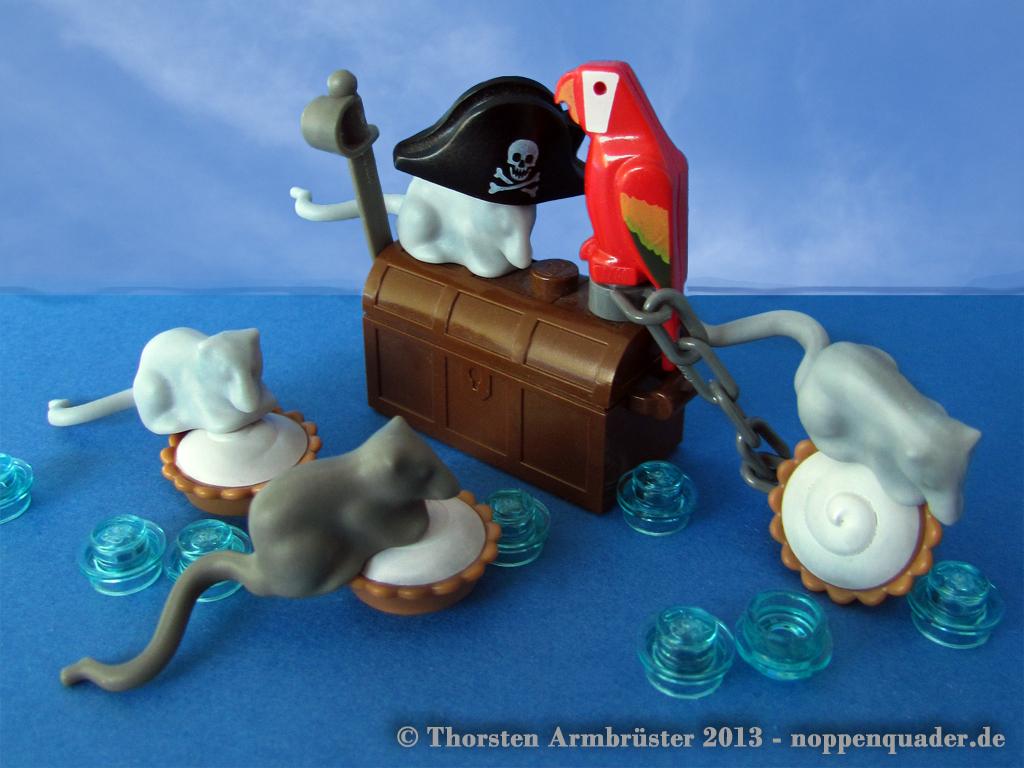Pirats, pie, rats, lego, moc, noppenquader