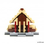 lego minifig noppenquader micro moc herr der ringe lord of the rings lotr golden hall edoras rohan