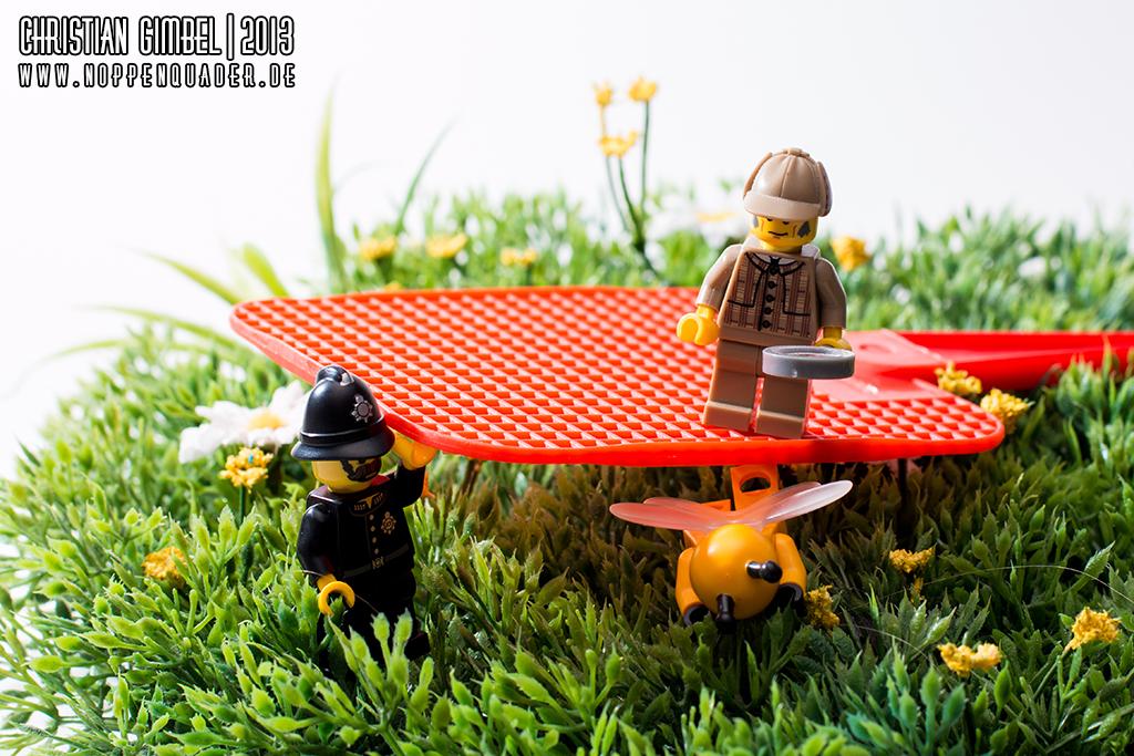 Noppenquader - Lego - Captured 2 - Apis mellifera - Artikelbild