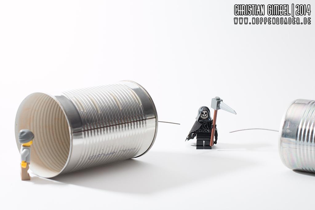 Noppenquader - Lego - Die Leitung ist tot - Artikelbild