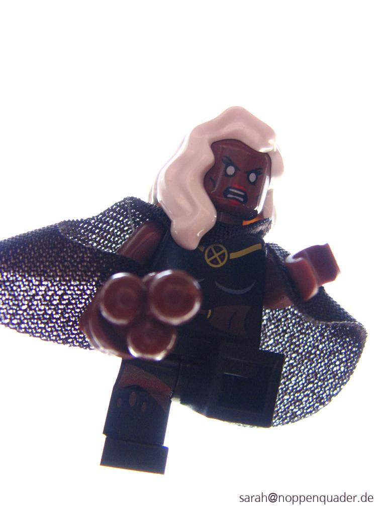 lego minifig noppenquader moc storm X-men marvel