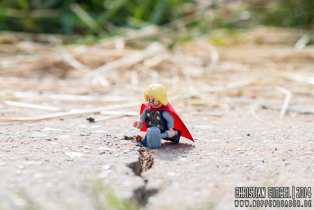 noppenquader thor asphalt lego spaltung