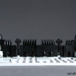lego minifig noppenquader micro moc herr der ringe lord of the rings lotr mordor black gate sauron