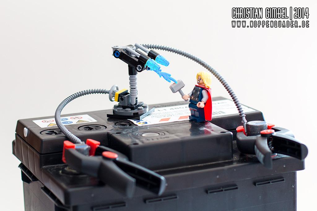 Noppenquader Thor Autobatterie