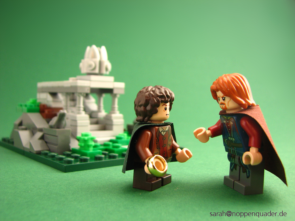 Amon Hen_Frodo_Boromir