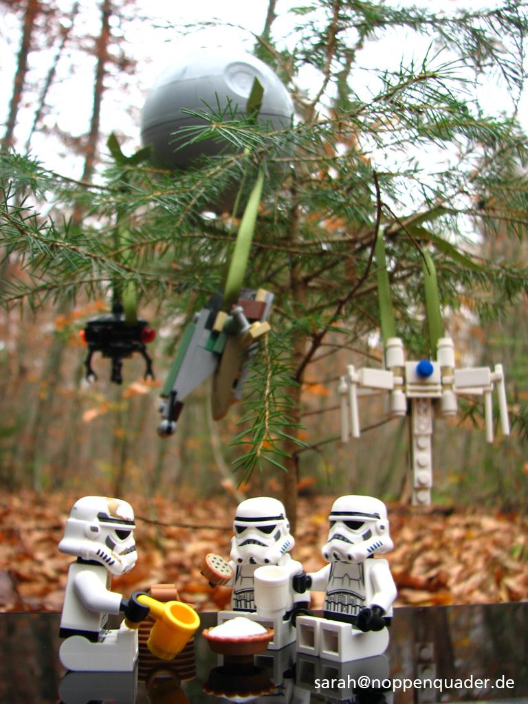 lego minifig noppenquader moc star wars stormtrooper christmas