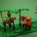 lego minifig noppenquader moc star wars endor ewok village landing platform shield generator bunker