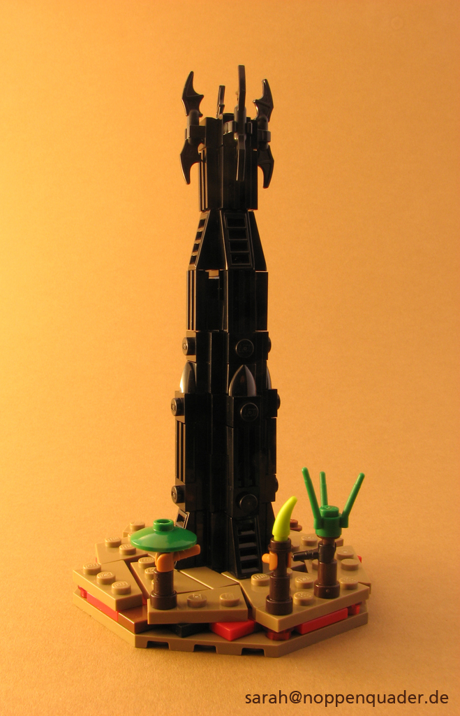 lego minifig noppenquader micro moc herr der ringe lord of the rings lotr isengard isengart ent baumbart orthanc saruman