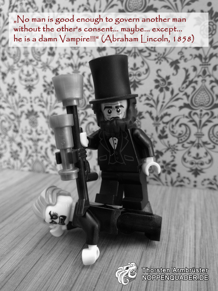 lincoln vampire hunter abraham movie lego moc noppenquader