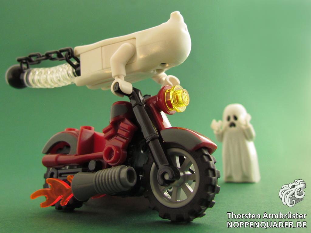 lego, minifig, geist, ghost, geisterfahrer, noppenquader, moc
