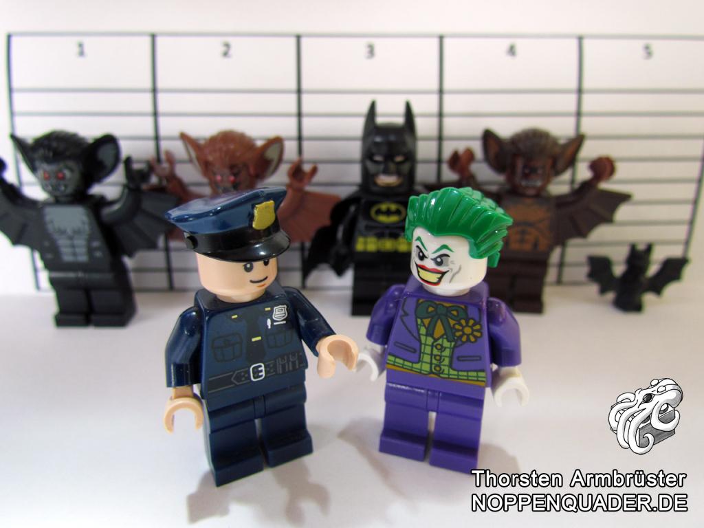 joker, batman, bat, fledermaus, moc, lego, noppenquader, polizei, police, line-up, dc