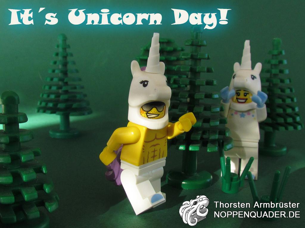 lego unicorn moc noppenquader fairytale einhorn minifig