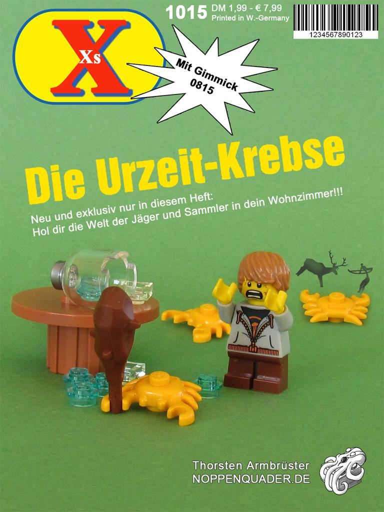 Lego yps urzeitkrebse noppenquader minifig moc