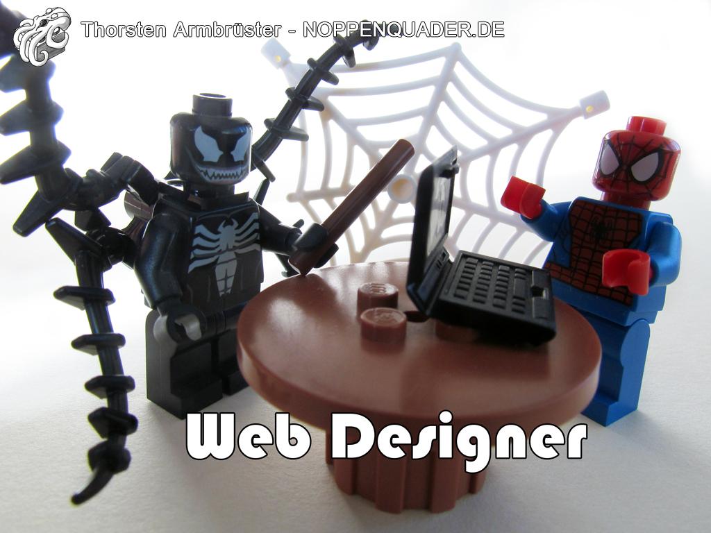 lego noppenquader moc spiderman venom villain super heroes hero marvel web designer
