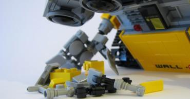Wall-e tobt sich aus!