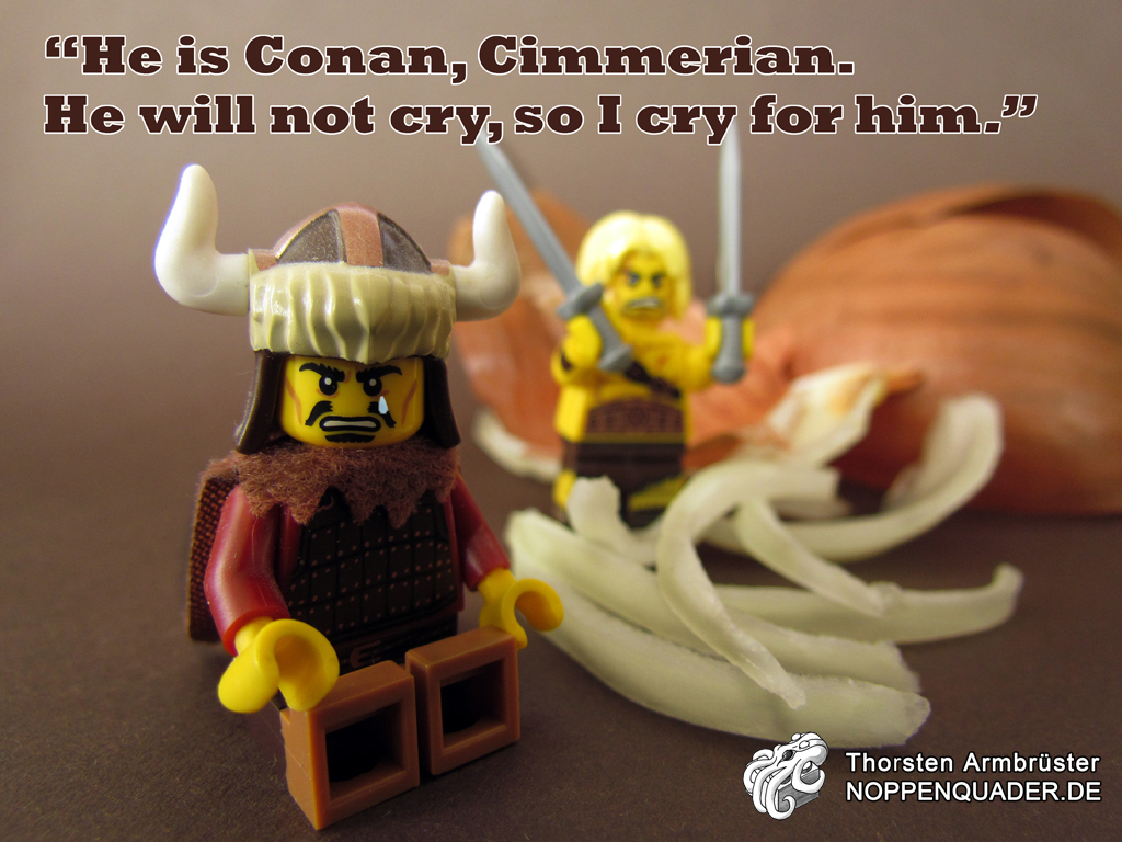 lego moc conan onion barbarian minifig minifigs noppenquader