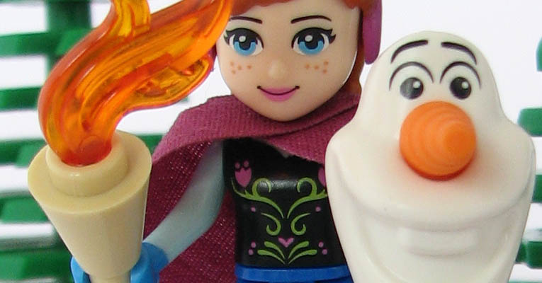 Olaf rettet Anna vor dem verrückt gewordenen Kristof
