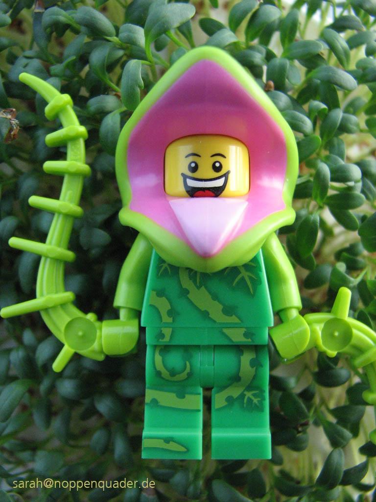 lego minifig noppenquader moc Pflanze Unkraut Kresse Garten