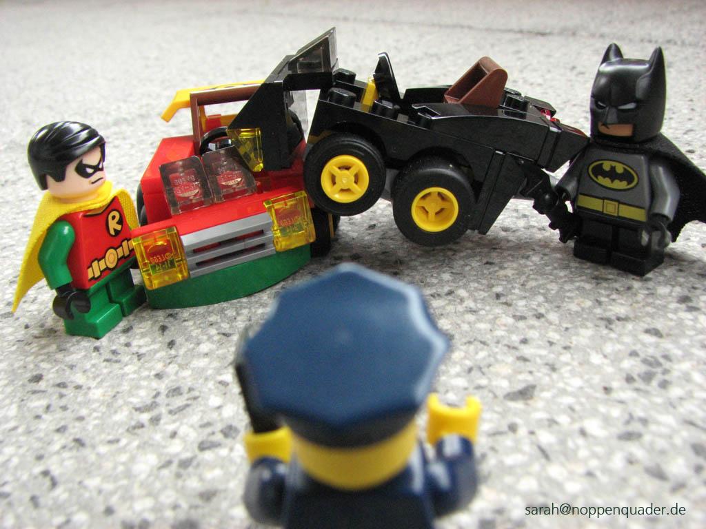 lego minifig noppenquader mighty micros super heroes moc Robin vs. Bane 76062 Batman vs. Catwoman 76061