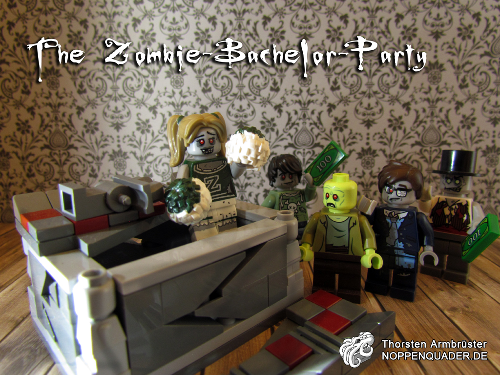 zombie bachelor lego noppenquader minifig minifigs monster party stripper sarg untod undead