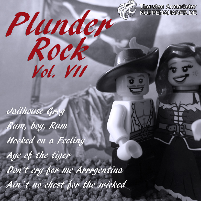 lego plunder pirate pirates pirat noppenquader heartrock rock music musik cd cover moc minifig minifigs