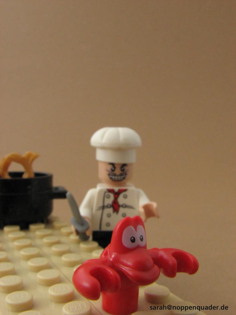 Arielle die Meerjungrau koch Louis Sebastian Krabbe