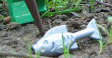 Das Sumpfmonster auf der Jagd