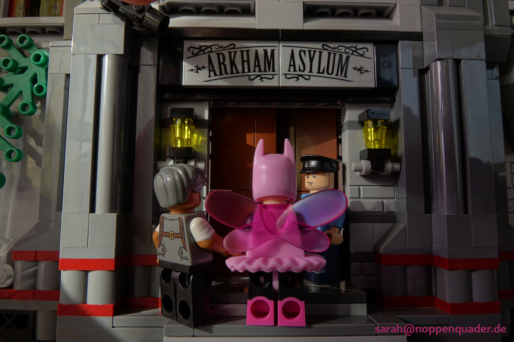lego minifig noppenquader moc batman ballerina commissioner gordon arkhma asylum