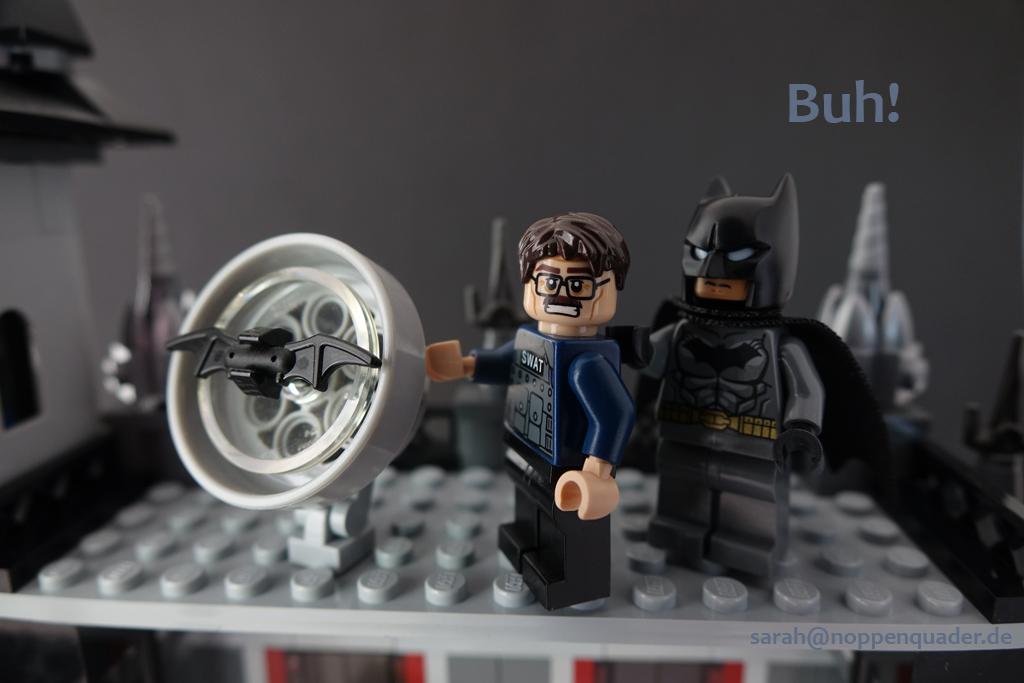lego minifig noppenquader moc batman batsign commissioner gordon jump scaring