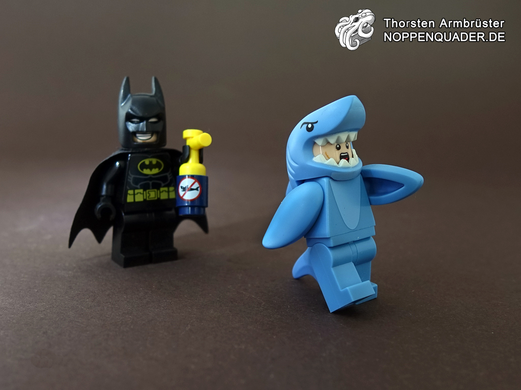 lego noppenquader movie batman shark spay dc gotham hai minifigs minifig moc
