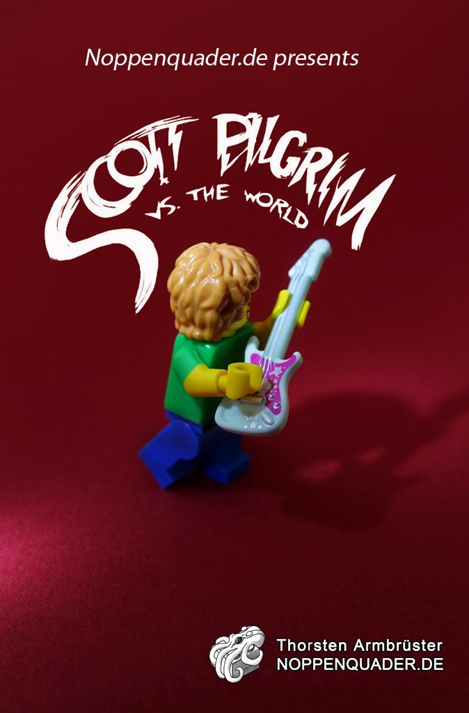 scott pilgrim movie lego noppenquader moc minifig