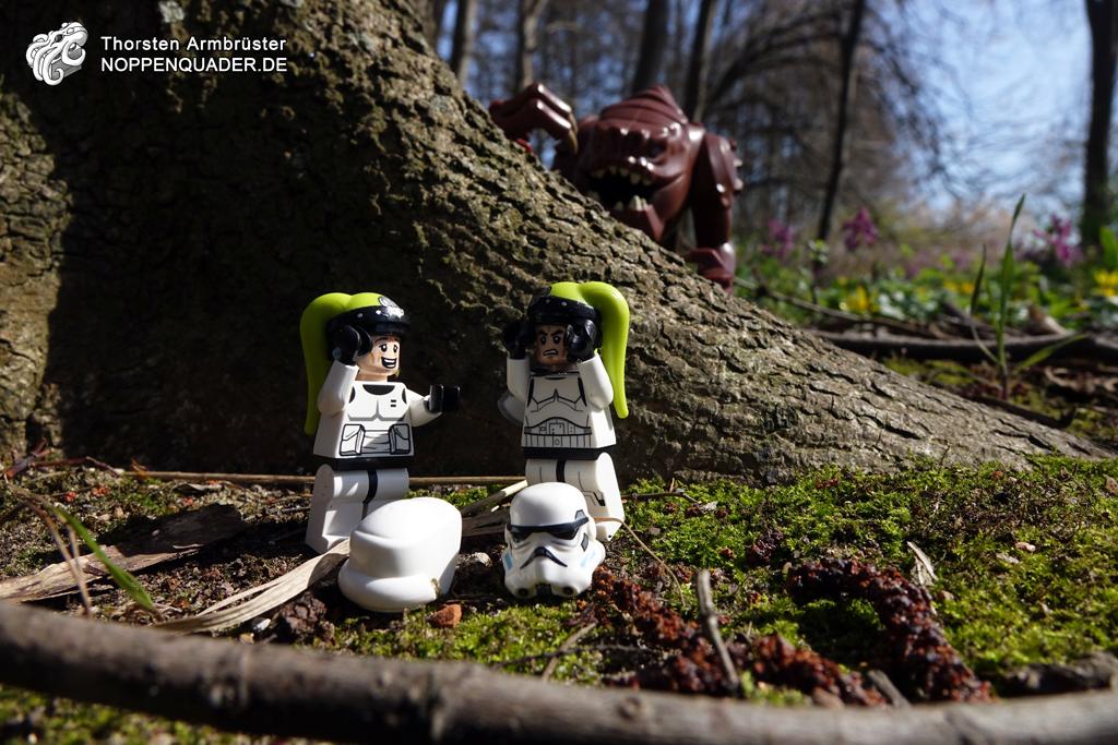 star wars rancor stormtrooper lego minifig minifigs moc speederbike noppenquader imperial Twi'lek