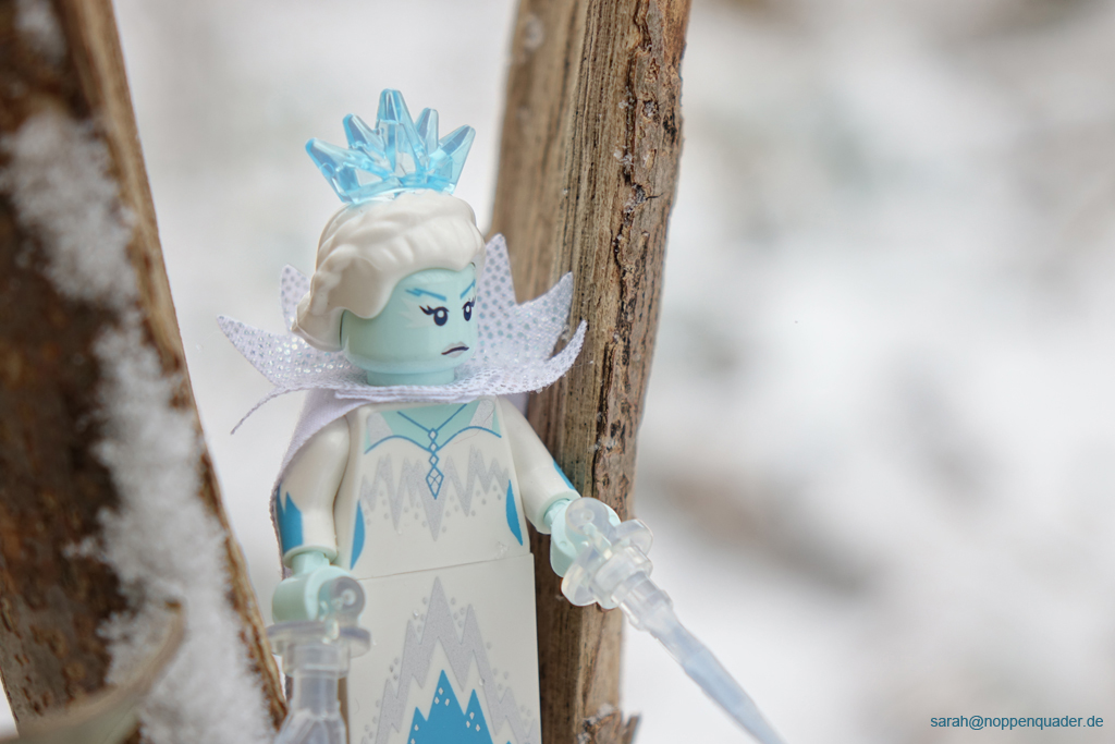 lego sammelfigur collectible minifigure icequeen schneekönigin schnee eis winter