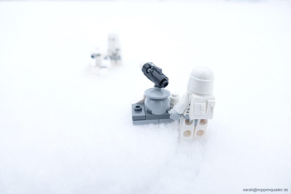 hoth snowtrooper stormtrooper schneeballschlacht minifigure lego