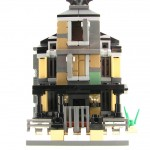 lego minifig noppenquader micro moc haunted house architekture monster fighters